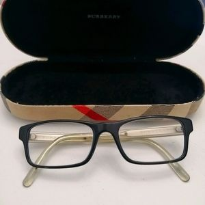 Burberry eyeglasses and case